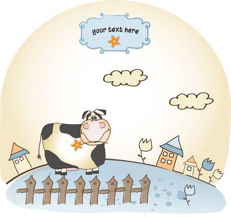 provincial: cute happy cow