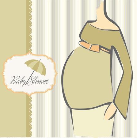 sophisticate: baby shower invitation