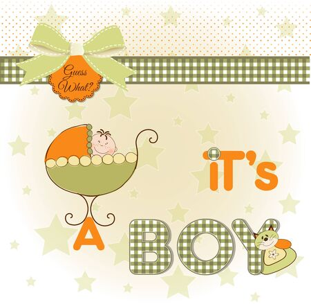 it's a boy Stock Photo - 9437420