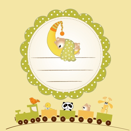 welcome baby card Stock Photo - 9435448