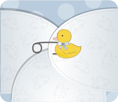 new baby announcement  Stock Photo - 9435446