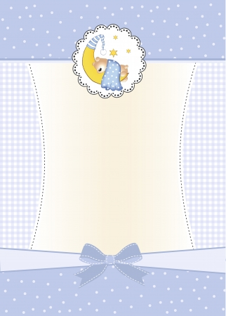 baby shower invitation Stock Vector - 9806297