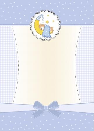 shower b�b�: invitation de douche de b�b�  Illustration