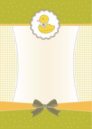 swiming: baby shower invitation