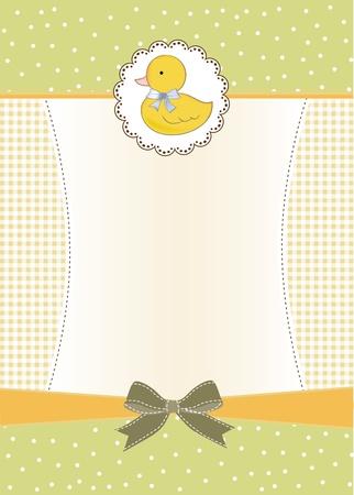 baby shower invitation  Vector
