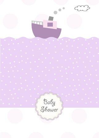 invitación de ducha Baby