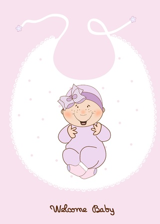 girl shower: anuncio de ducha baby girl