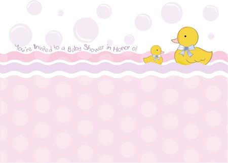 baby shower invitation Stock Vector - 9806641