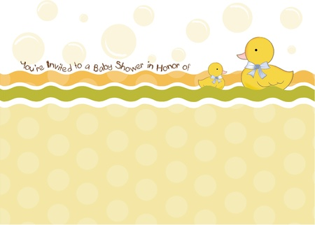 baby shower invitation  Stock Vector - 9806644