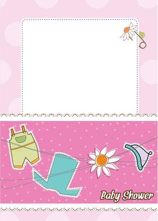 invitacion bebe: tarjeta de presentaci�n de beb�