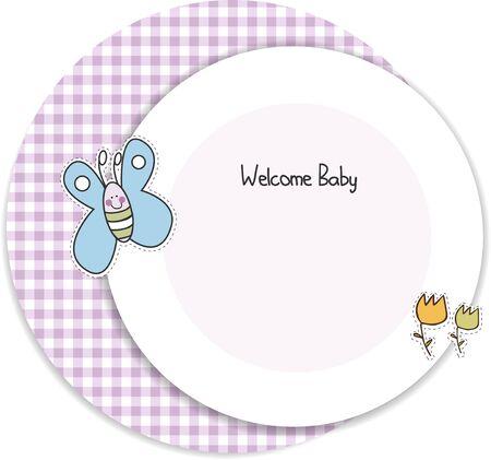 baby shower invitation Stock Vector - 9806741