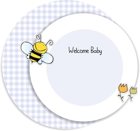 baby shower invitation  Stock Vector - 9806751