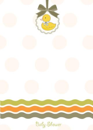 baby shower invitation  Stock Vector - 9806418