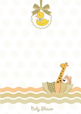 baby shower invitation  Stock Vector - 9806538