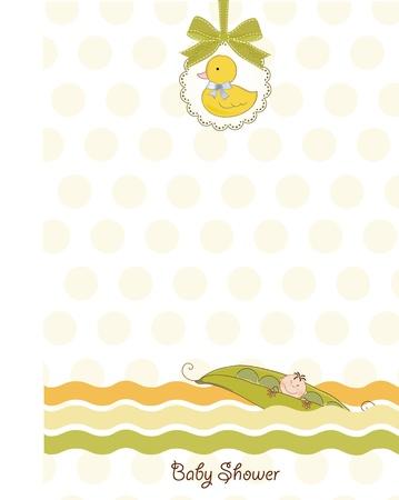 baby shower invitation  Stock Vector - 9806533