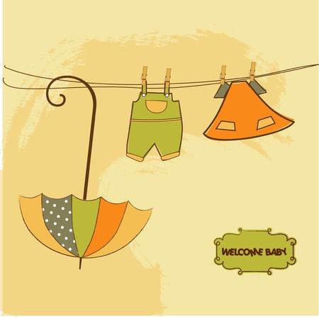 baby shower invitation Stock Vector - 9806467