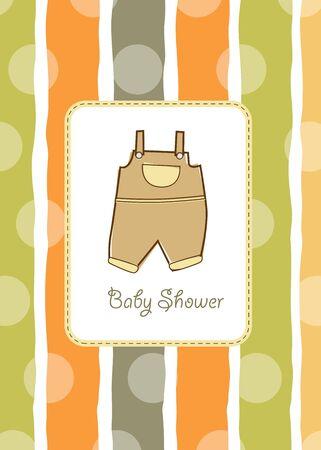 stripping: invitaci�n de ducha Baby