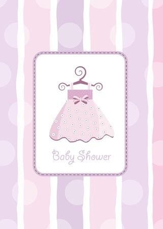 baby shower invitation Stock Vector - 9806527