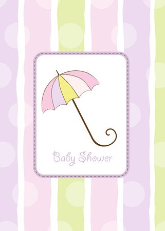 baby shower invitation Stock Vector - 9806353