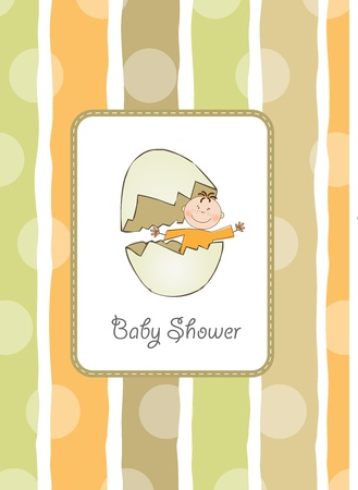 new baby shower announcement  Vector