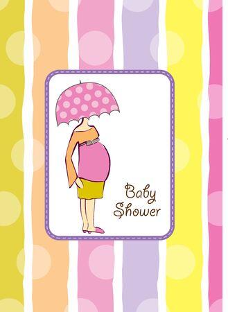 invitaci�n de ducha Baby