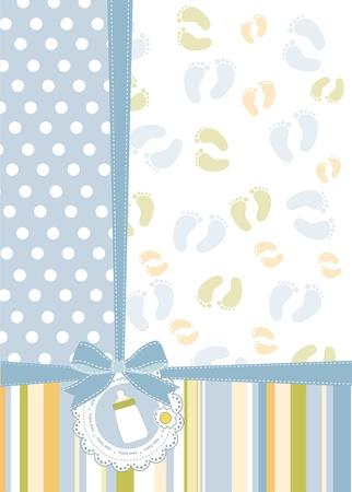 baby shower announcement Stock Vector - 9934147
