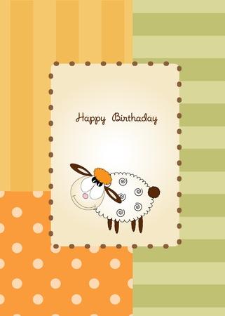 flusspferd: Herzlichen Gl�ckwunsch zum Geburtstag  Illustration