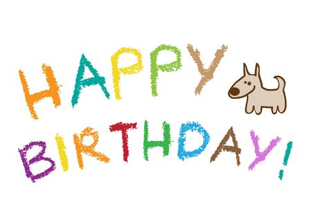 happy birthday Stock Vector - 9934233