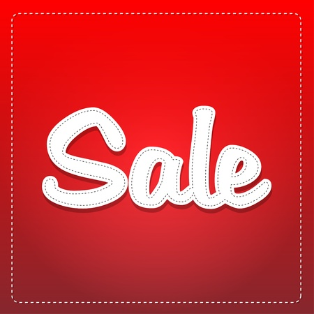 e store: sale label