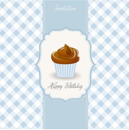 birthday cake Stock Vector - 9934326