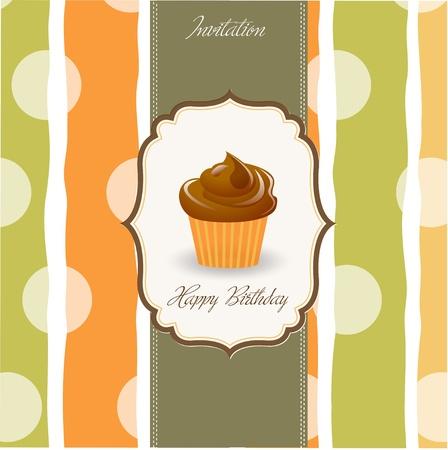 birthday cake Stock Vector - 9934305