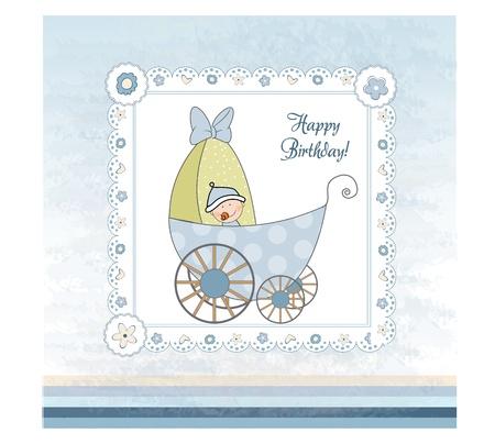cochecito de bebe: tarjeta de presentaci�n de ducha de beb� con pram
