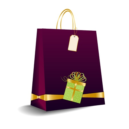 shopping bag  Stock Vector - 9934378