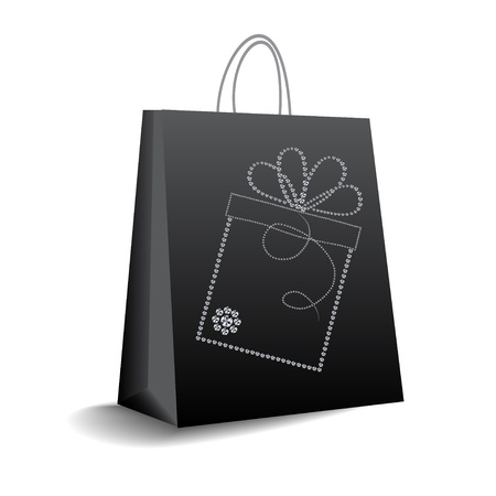 shopping bag  Stock Vector - 9934381