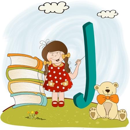 children alphabet letters   Stock Vector - 9934430