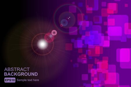 polychromatic: abstract background Illustration