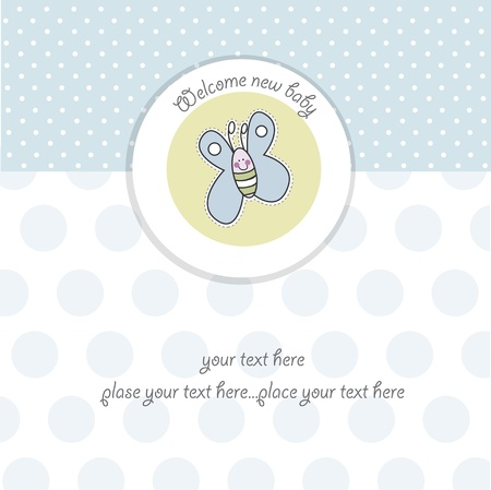 invite congratulate: baby boy shower card