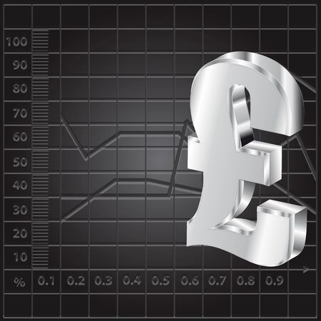 financial background with 3d lira sign Stock Vector - 10586981