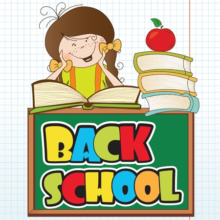 back to school background: back to school