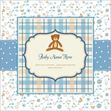 customize: romantic baby shower card