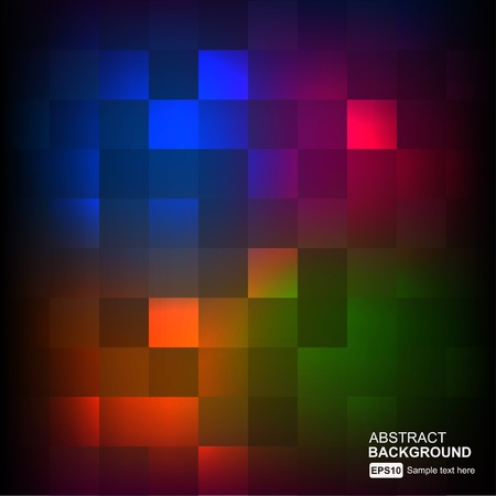square composition: abstract vector background Illustration