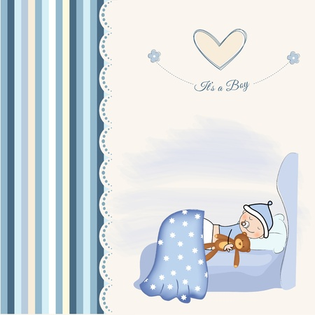 romance bed: welcome new baby boy