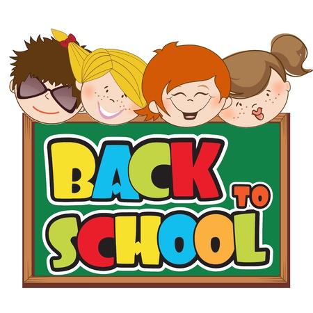back to school Stock Vector - 12599193