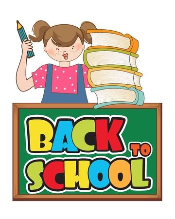 back to school Stock Vector - 12599195