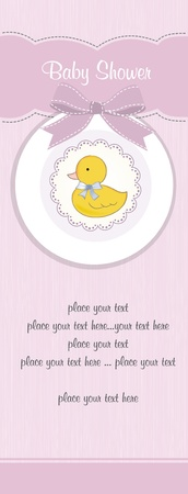 baby shower card Stock Vector - 12393073
