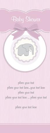 girl shower: Tarjeta de Baby Shower