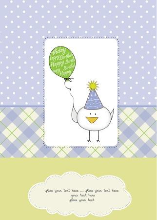 welcome baby boy Stock Vector - 11154344