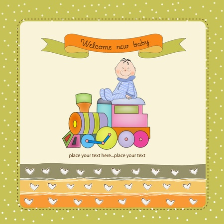 new baby arrived Stock Vector - 11154348