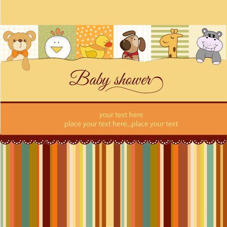 flusspferd: Baby-Dusche Ank�ndigung