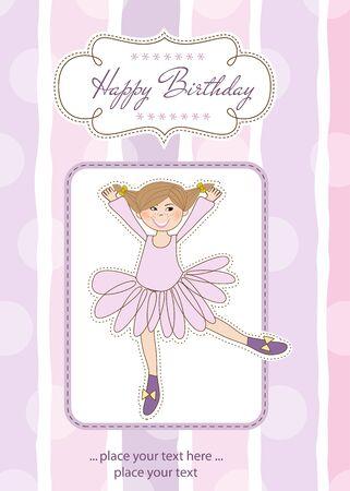 happy birthday card Stock Vector - 12466195